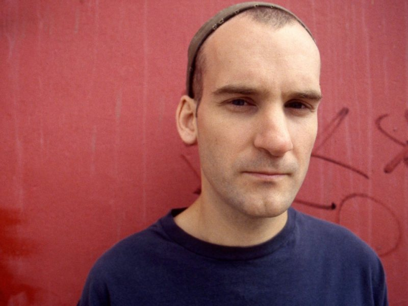 Portrait of American musician Ian MacKaye from Minor Threat and Fugazi, London, 1991. (Photo by Martyn Goodacre/Getty Images)